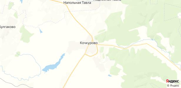 Кочкурово на карте