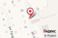 Схема проезда до компании ДСК ГРАНИТ в Воскресенском