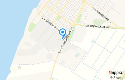 Местоположение на карте пункта техосмотра по адресу Волгоградская обл, г Николаевск, проезд Промышленный, д 5