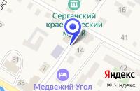Схема проезда до компании МП ПРОМТОВАРНЫЙ МАГАЗИН ПРЕСТИЖ в Сергаче