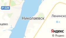 Отели города Николаевск на карте
