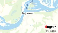 Отели города Бармино на карте