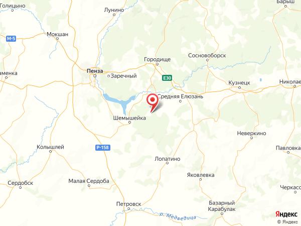 село Наскафтым на карте
