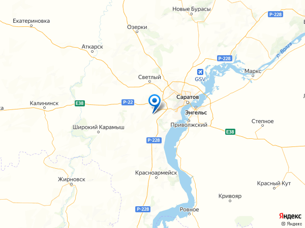 СНТ Сорокино на карте