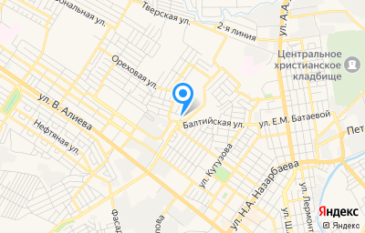 Местоположение на карте пункта техосмотра по адресу г Грозный, ул Алтайская, д 40