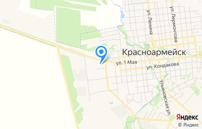 Местоположение на карте пункта техосмотра по адресу Саратовская обл, г Красноармейск, ул 1 Мая, д 2Г
