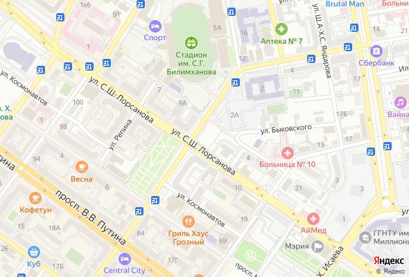 купить квартиру в ЖК По ул.Лорсанова