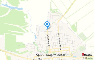 Местоположение на карте пункта техосмотра по адресу Саратовская обл, Красноармейский р-н