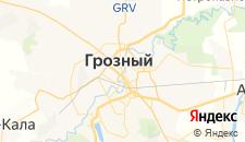 Гостиницы города Грозный на карте
