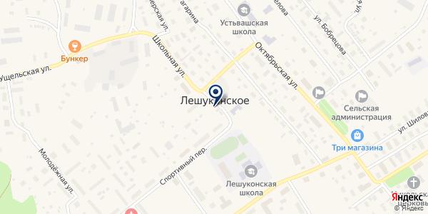 ТФ ПОНОМАРЕВ А.В. на карте Лешуконском