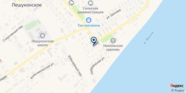 ЛЕШУКОНСКИЙ ЦЕНТР ДОСУГА на карте Лешуконском