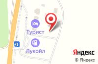 Схема проезда до компании Мираж в Сторожевке