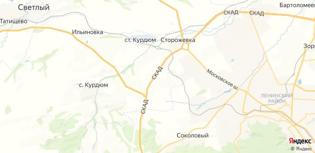 Шевыревка на карте