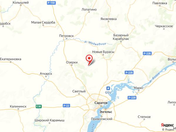 село Сокур на карте