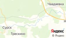 Отели города Никоново на карте