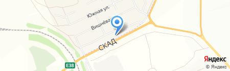 АЗС на карте Сторожёвки