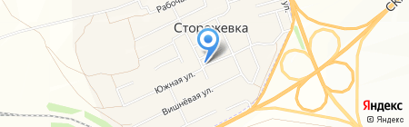 ЯИК на карте Сторожёвки