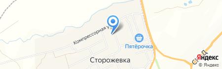 Детский сад с. Сторожёвка на карте Сторожёвки