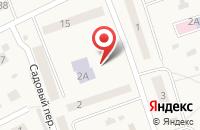 Схема проезда до компании Детский сад с. Сторожёвка в Сторожевке