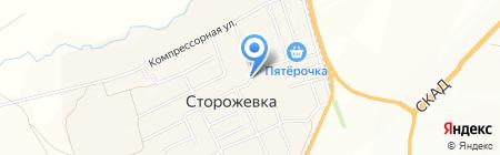 Ателье на карте Сторожёвки