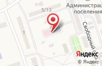 Схема проезда до компании Участковый пункт полиции №1 в Сторожевке