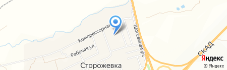 Банкомат Поволжский банк Сбербанка России на карте Сторожёвки