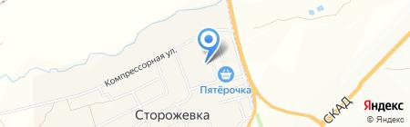 Продуктовый магазин в Свободном переулке на карте Сторожёвки