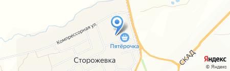 Продуктовый магазин на карте Сторожёвки