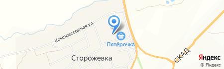 Стелла на карте Сторожёвки