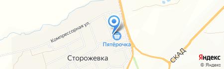 Продукты на карте Сторожёвки