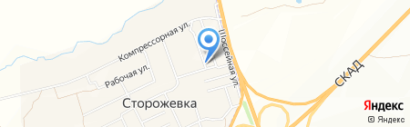 Магнит на карте Сторожёвки