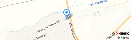 Автомойка на карте Сторожёвки