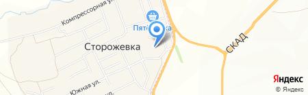Средняя общеобразовательная школа с. Сторожёвка на карте Сторожёвки