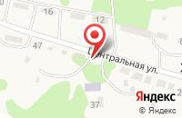 Схема проезда до компании Почтовое отделение в Хмелёвском