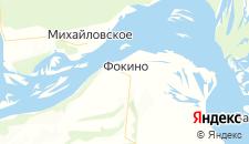 Отели города Фокино на карте