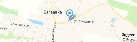 Продуктовый магазин на карте Багаевки