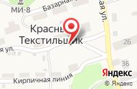 Схема проезда до компании Зевс в Красном Текстильщике