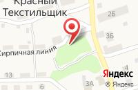 Схема проезда до компании Аква-Русь в Красном Текстильщике