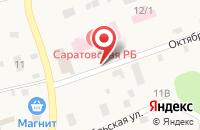 Схема проезда до компании Центральная районная больница в Красном Текстильщике