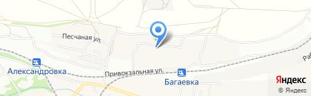 Гнездышко на карте Александровки