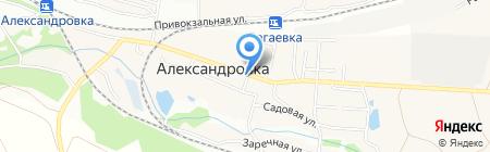 Полина на карте Александровки