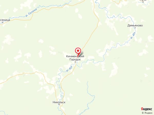 деревня Лобаново на карте