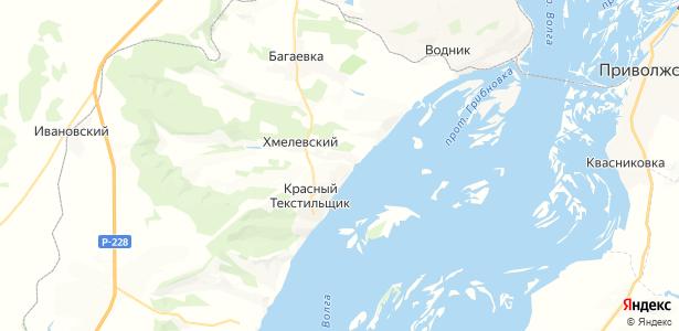 Хмелевка на карте