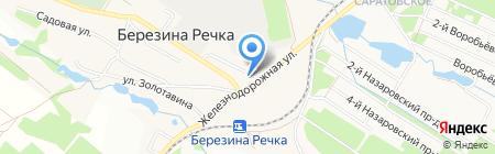 Средняя общеобразовательная школа с. Березина Речка на карте Березиной Речки