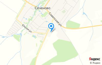 Местоположение на карте пункта техосмотра по адресу Нижегородская обл, с Сеченово, ул Промышленная, д 2