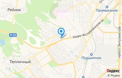 Местоположение на карте пункта техосмотра по адресу г Саратов, ул им Маркина Н.Г., д 2