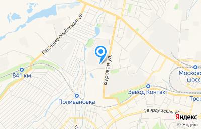Местоположение на карте пункта техосмотра по адресу г Саратов, ул Буровая, зд 26