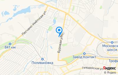 Местоположение на карте пункта техосмотра по адресу г Саратов, ул Буровая, д 26
