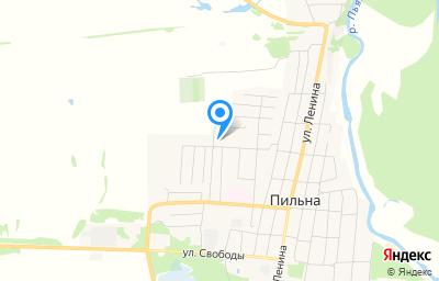 Местоположение на карте пункта техосмотра по адресу Нижегородская обл, рп Пильна, ул Юбилейная, д 43