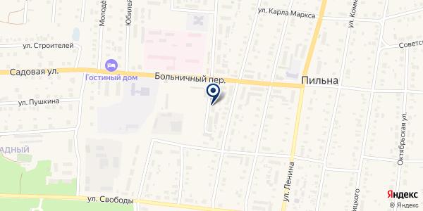 АПТЕКА БЛИНОВ В. С. на карте Пильне